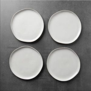 Hearth and hand magnolia salad plates X4 NEW